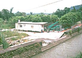 圖2. 八寶圳試驗魚道研究站(引自行政院農委會特有生物研究保育中心,1998)