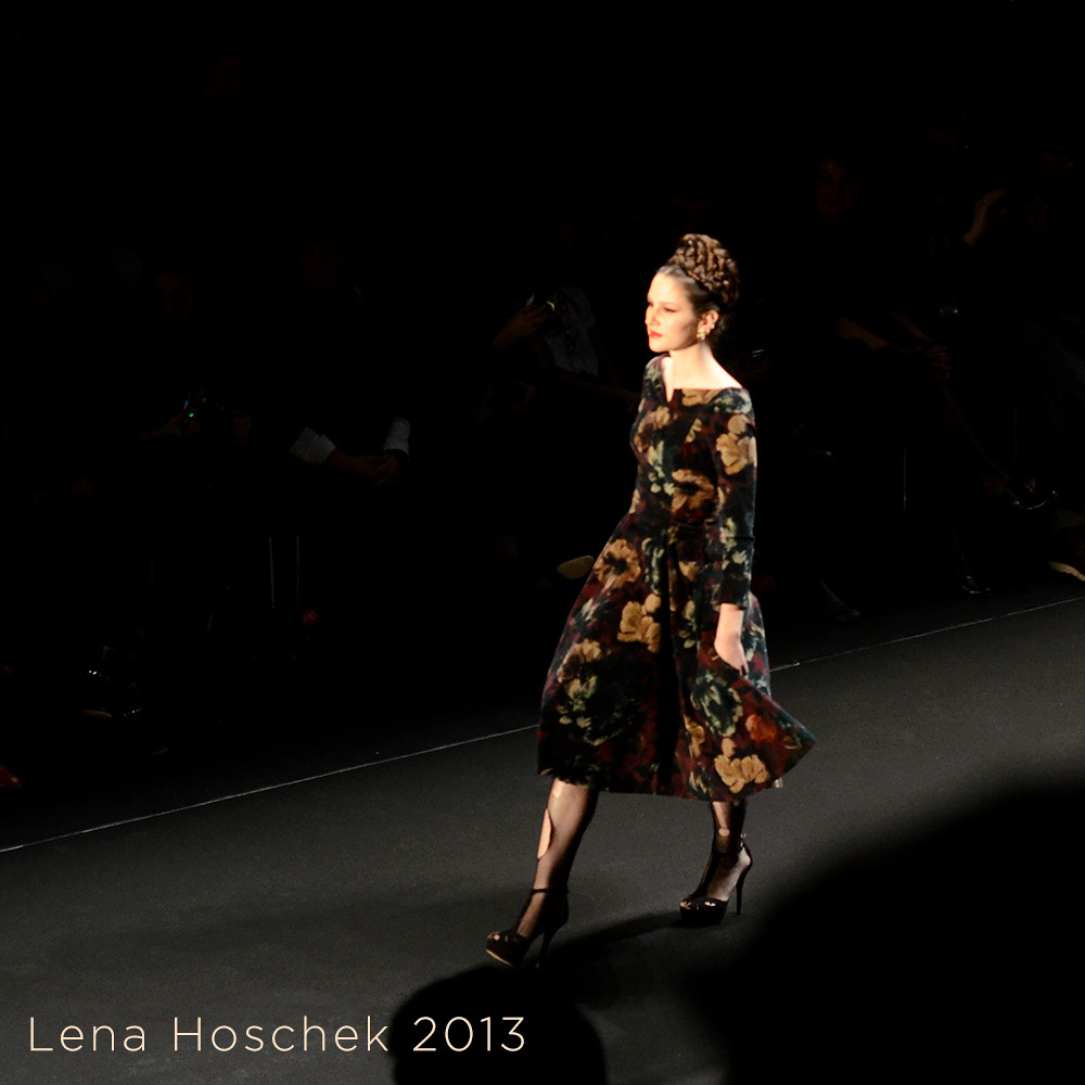 Mercedes Benz Fashion Week Berlin Lena Hoschek