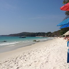 Today's view, sorry beaches are all I'm looking at today... #nofilter #thailand #beach