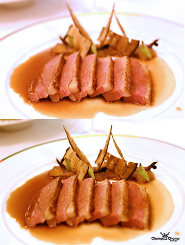 Duck breast @ Guy Savoy, MBS, Singapore