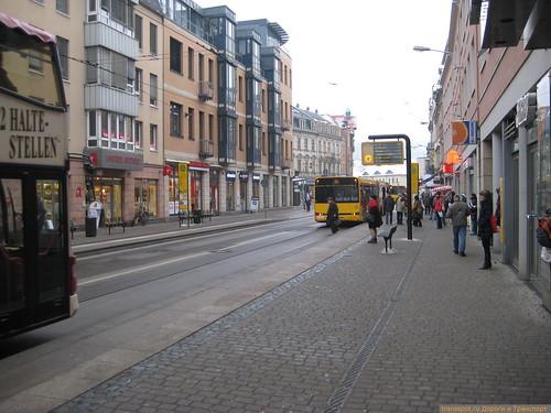 Пересадочный узел на окраине Дрездена