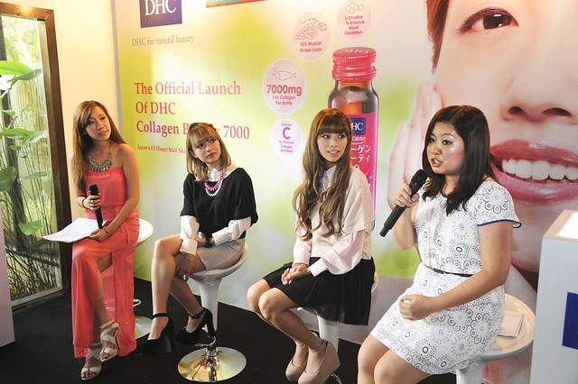 DHC Collagen Launch3
