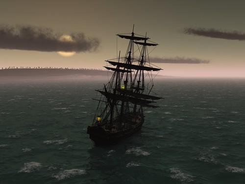 Medusa At Sea