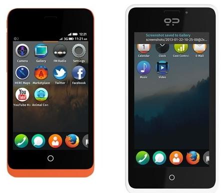 Смартфон Firefox OS