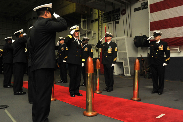 Change Of Command January 23, 2013