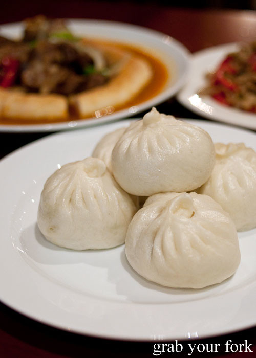 uzbek steamed manta at poplar central asian cuisine crows nest