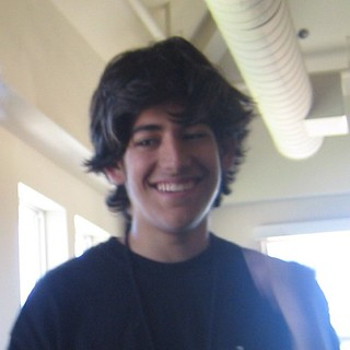 Aaron Swartz at Foo Camp 2005