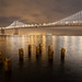 Bay Bridge night by Matthew Almon Roth