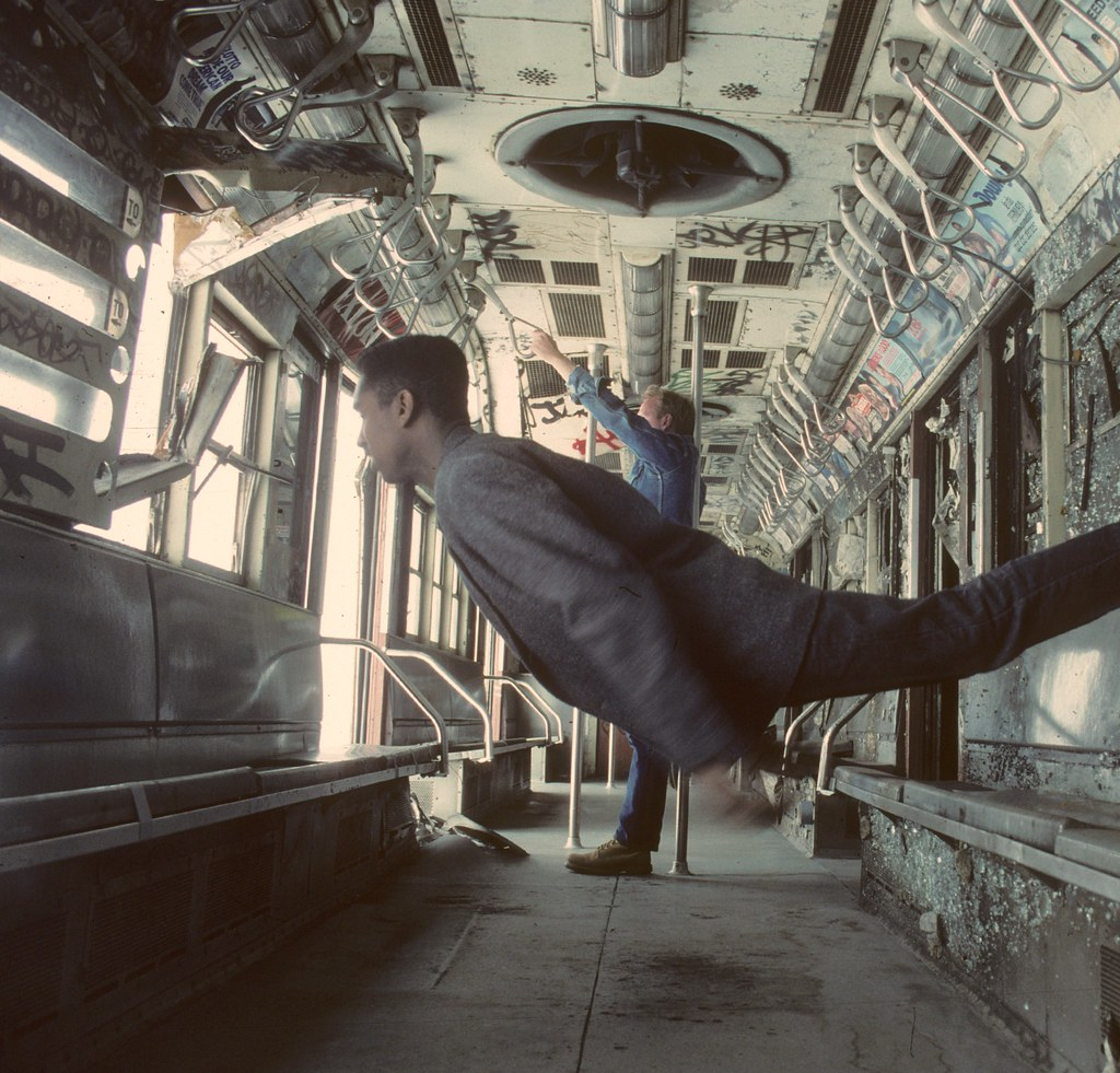 NYC Photographer Shoots Series In Abandoned Subway Cars