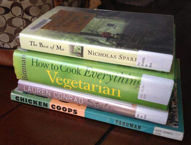 library-books-vegetarian-nicolas-sparks