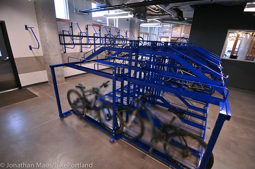 bike parking at Central Eastside Lofts-2
