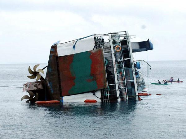 Passenger ship sinks off Calapan City