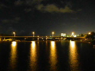 Fitzroy River @ night