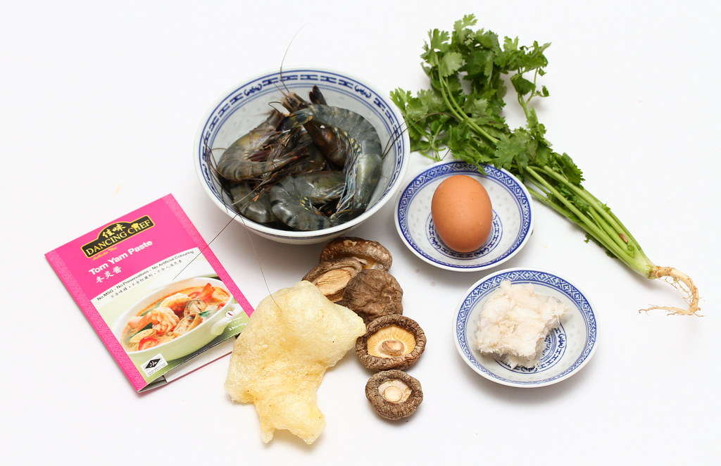 Fish Maw Tom Yam Soup