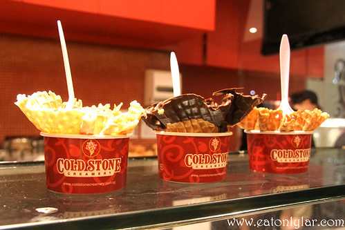 Founder's Favourite, Mint Mint Chocolate Chocolate Chip and Banana Caramel Crunch, Cold Stone Creamery