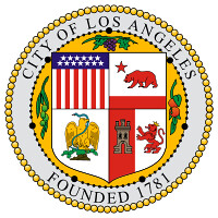 Photo: seal of the City of Los Angeles