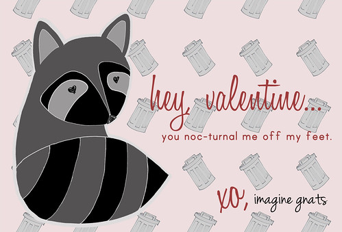 raccoon valentine