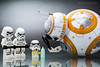 BB-8 : Way, way, WAY too short to be a Stormtrooper!