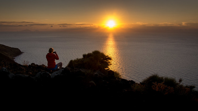 Shooting a Sunset