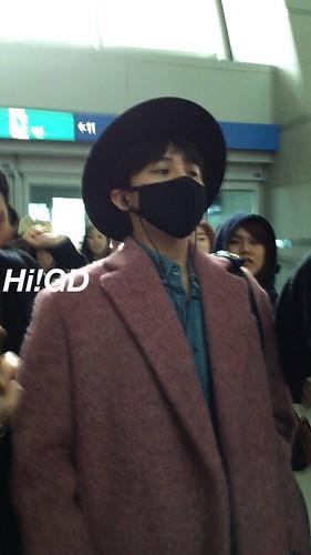 Big Bang - Incheon Airport - 21mar2015 - G-Dragon - Hi GD - 02