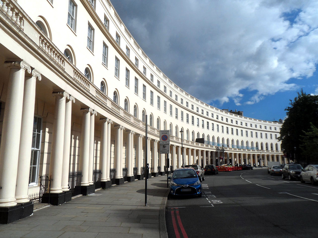 Park Crescent, London. Credit spudgun67