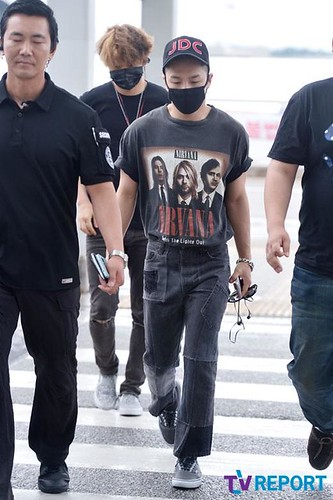 Big Bang - Incheon Airport - 26jun2015 - TV Report - 02