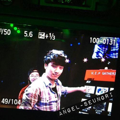 Seung Ri - V.I.P GATHERING in Harbin - 21mar2015 - Angel-Seungri - 01