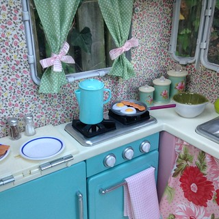 Our generation RV turned shabby-chic vintage airstream