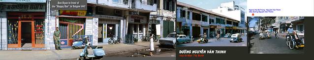 SAIGON 1965-67 - Đường Nguyễn Văn Thinh, nay là Mạc Thị Bưởi