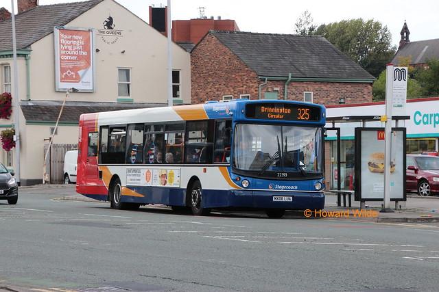 Stagecoach Manchester 22393 (MX06 LUA)