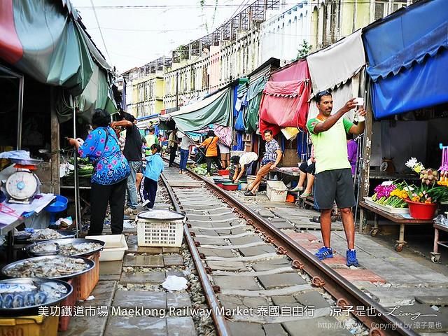 美功鐵道市場 Maeklong Railway Market 泰國自由行 11