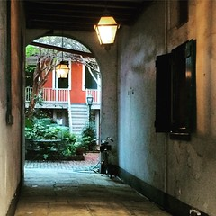 Passageway, French Quarter, New Orleans