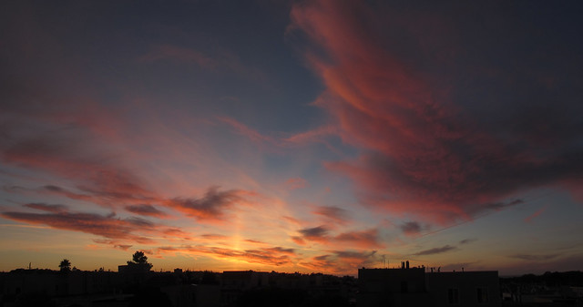 Sunset in San Francisco.  December 7, 2012