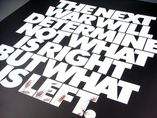 Lubalin poster set, print #8: The Next War poster