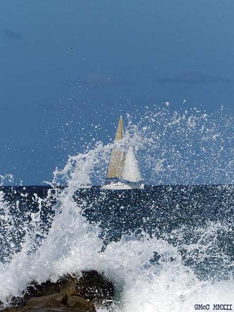 Rough seas? No, just average.