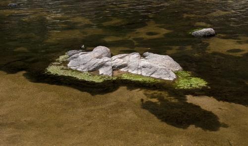 La piedra flotante/The floating stone