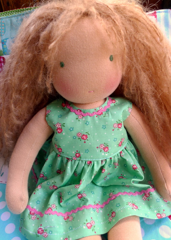 Callie in her summer dress