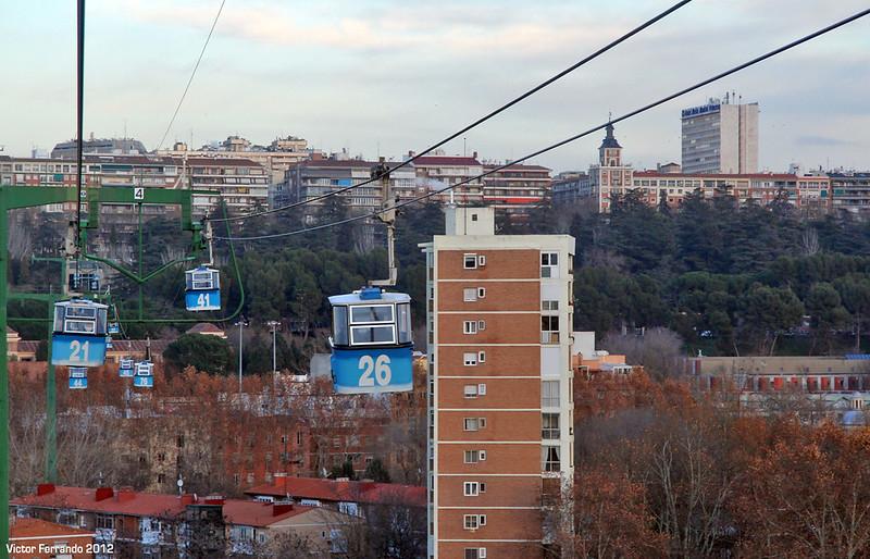 Teleférico Madrid 2012