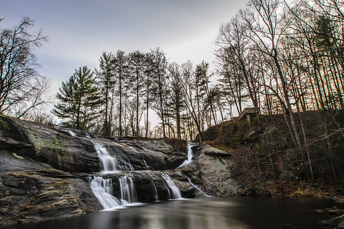 longexposure river waterfall unitedstates northcarolina valdese mcgalliardfalls