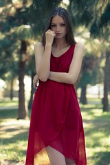 [フリー画像素材] 人物, 女性, ワンピース・ドレス, アメリカ人 ID:201212161400