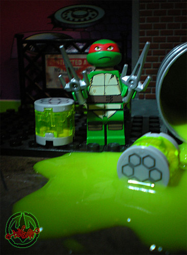 "LEGO Teenage Mutant Ninja Turtles :: ""Stealth Shell in Pursuit"" ; Raphael i (( 2013 ))"