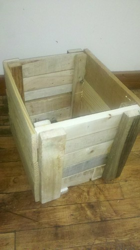 pallet wood box by bridgetDginley