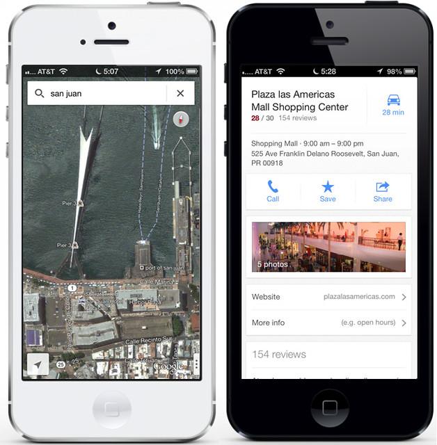 Google Maps para iOS 6 — Google Maps para iPhone