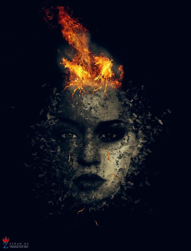 fire in my head