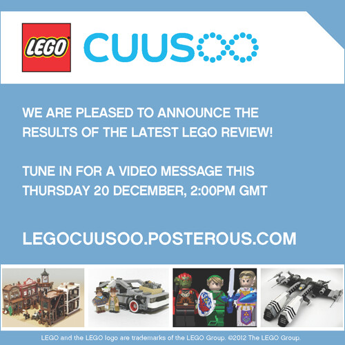 CUUSOO Review Announcement