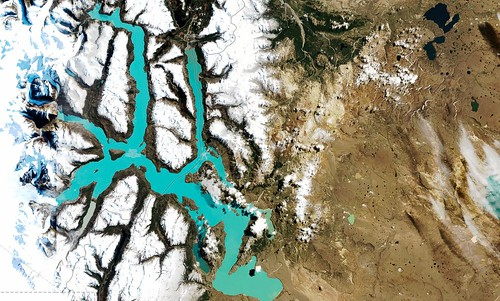 Lago Ohiggins, Chile | MapBox Satellite
