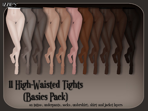High-Waisted Tights (Basics)