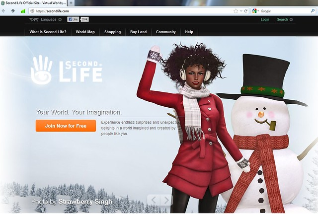 SecondLife.com - Winter Holidays