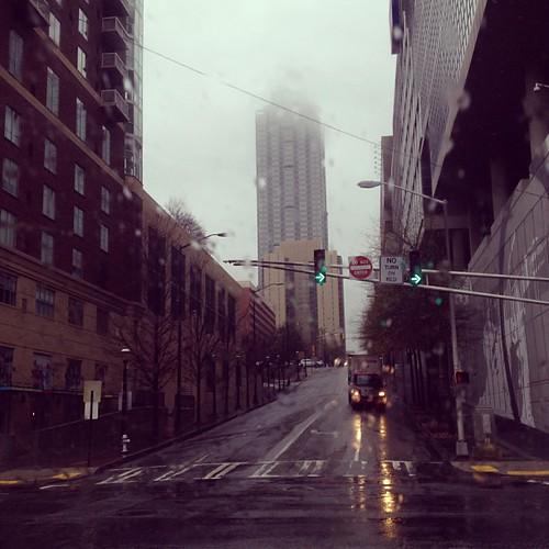Rainy Atlanta.