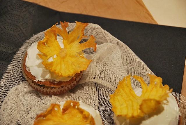 fleurs d'ananas séchées